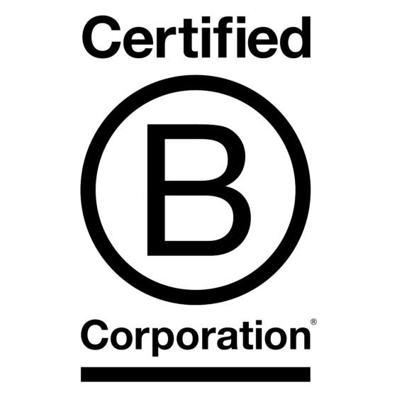 Certified B Corporation: Manufacturers must meet rigorous standards of social and environmental performance, accountability, and transparency, determined by the nonprofit organization B Lab.