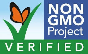 Non-GMO Project Verified: Ingredients are free of GMOs and have been tested and authenticated by the Non-GMO Project Product Verification Program, a nonprofit, third-party organization for food and products.