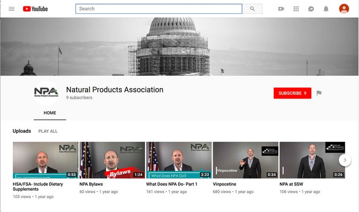 The Natural Products Association (NPA) has created a fun, 16-minute video to educate consumers about supplement regulations.